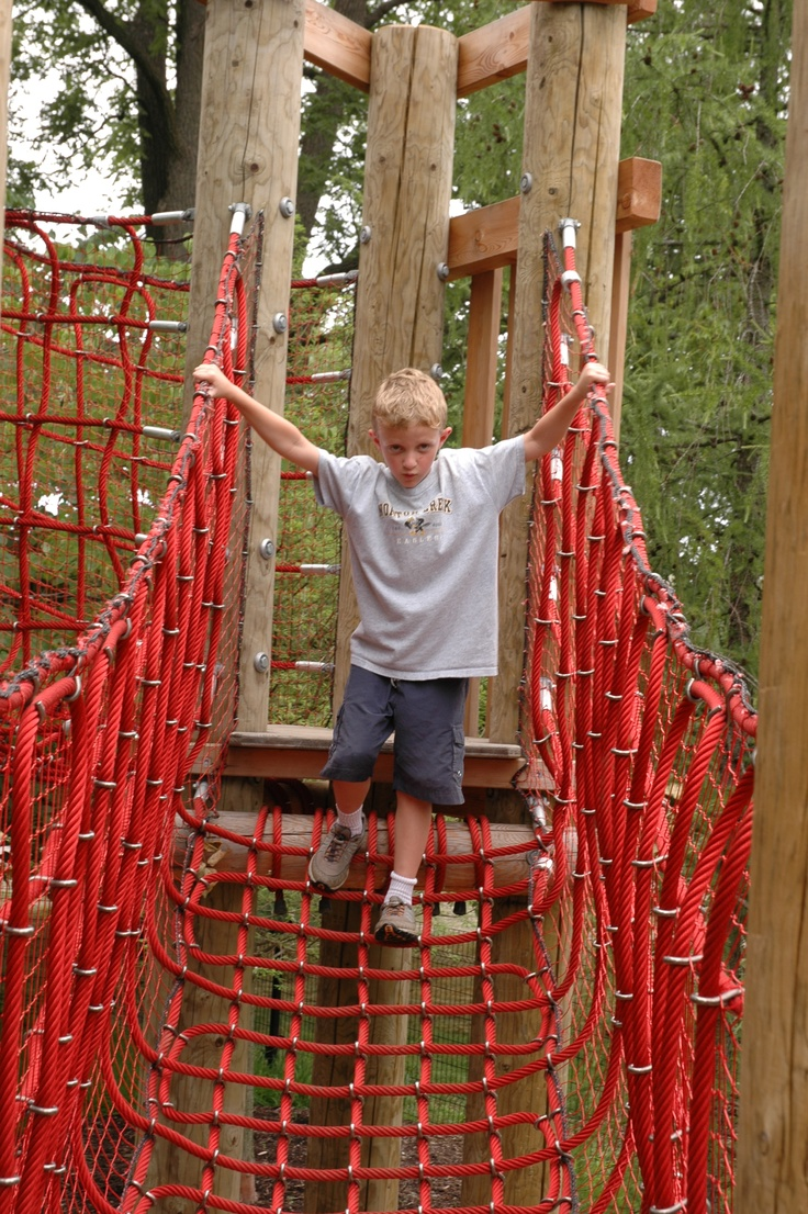 Children For Daz Studio And Poser: Rope Bridge #kids #nature #play