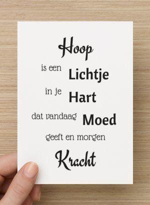 Mooie kaart met tekst #Cards #Quotes - Buy it at www.prettypresents.nl. - Card € 1,25