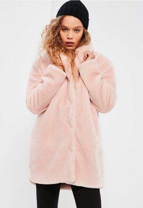 1000  ideas about Pink Faux Fur Coat on Pinterest | Fur Fur coats