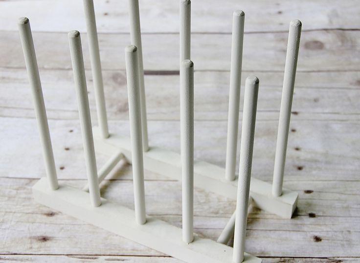 Simple Plate Display Rack
