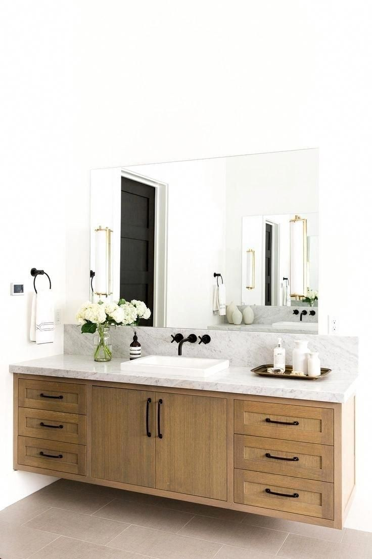 Stylish Inspiration For Bathroom Vanity Units And Cabinets From Rustic Wooden Designs To Corner Modern Bathroom Mirrors Wood Bathroom Vanity Bathroom Design