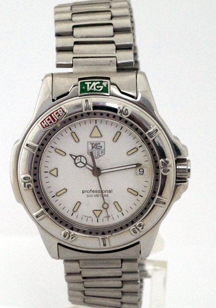 Tag Heuer Men's Professional 200m WF1112-0 Sports Watch - EX1123-B12