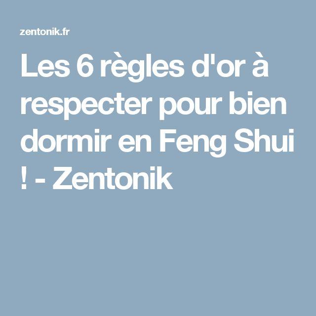 Les 6 règles d'or à respecter pour bien dormir en Feng Shui ! - Zentonik