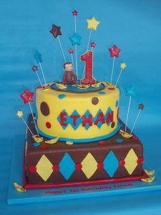 curious george bithday cake | Curious George 1st Birthday Cake | Flickr - Photo Sharing!