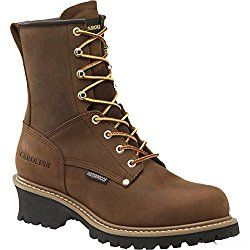 Men's Carolina 8″ Steel Toe Loggers Boot  When it comes to making the best logging boots, Carolina comes at the top. Comfort, stability, durability, traction, toughness this boot ticks all the boxes. Men's Carolina 8″ Steel Toe Loggers Boot got everything you need in a logger boot. What's more awesome is that it comes with a great price tag.