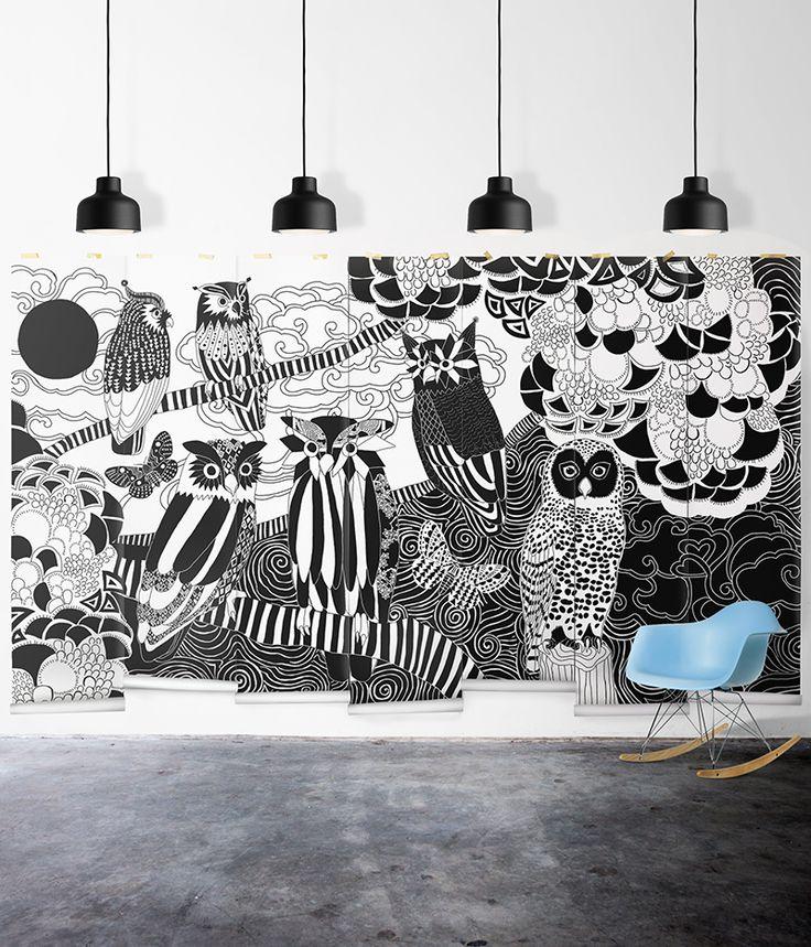 Trucos para empapelar las paredes y... ¡dejarlas preciosas! - http://decoracion2.com/trucos-para-empapelar-las-paredes-y-dejarlas-preciosas/ #Diseños_Para_Paredes, #Empapelar_Paredes, #Papel_Pintado