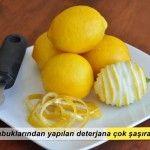 Limon Kabuğu Kullanımı – Doğal Deterjan