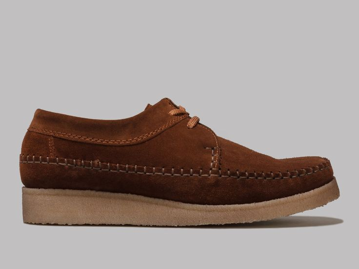 Padmore & Barnes M387 Willow (Snuff Suede)