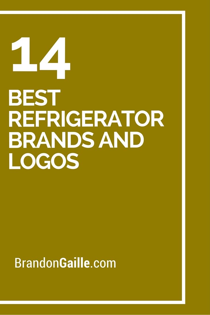 14 Best Refrigerator Brands and Logos