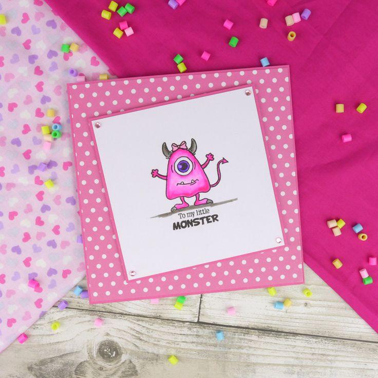 FTLS June - Misfit Monsters | Hunkydory Crafts