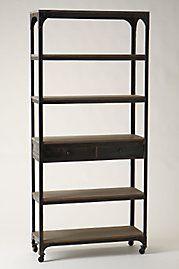 furniture: Bookshelves, Idea, Living Rooms, Decker Bookcases, Decker Bookshelf, Anthropologie Com, Furniture Decor, Home Furniture, Shelves United