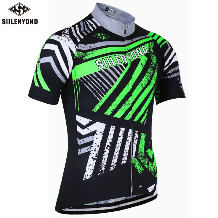 SIILENYOND 2017 Cycling Jersey Short Sleeve Maillot Ropa Ciclismo Mountain Bike Clothing Mens Racing Bicycle Clothes Uniforms //Price: $32.95 & FREE Shipping //     #hashtag1