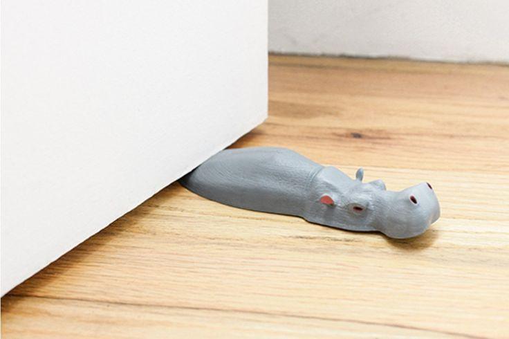 Hippo Doorstop van Kikkerland bestel je bij Cadeau.nl!