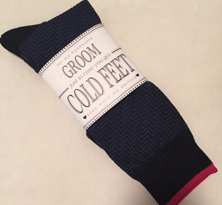 234 best cold feet socks images on pinterest cold feet groom fabulous grooms wedding gift from bride blueblackpink socks label just in case you get cold feet junglespirit Choice Image
