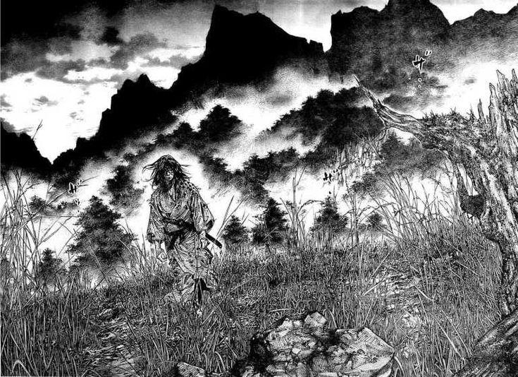 Vagabond tiger kojiro in 2020 Vagabond manga, Artwork