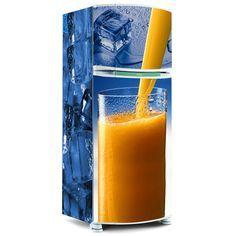 Envelopamento de geladeira - Envelopamento de geladeira Suco