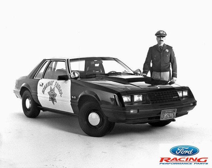 1982 Highway Patrol Police Mustang