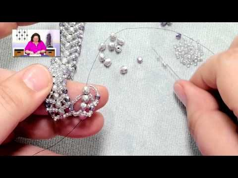Stitches: Flat Double Spiral Stitch - YouTube