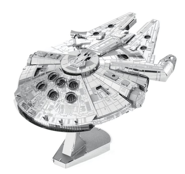 3D kovové puzzle METAL EARTH ICONX: Star Wars: Millenium Falcon