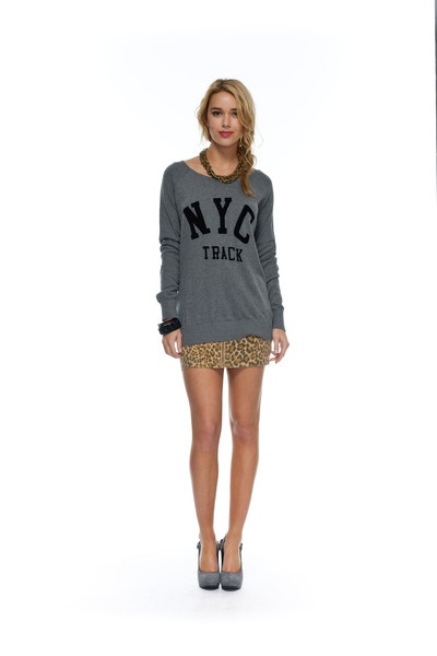 Carrie NYC Knit – Orange Sherbet eBoutique