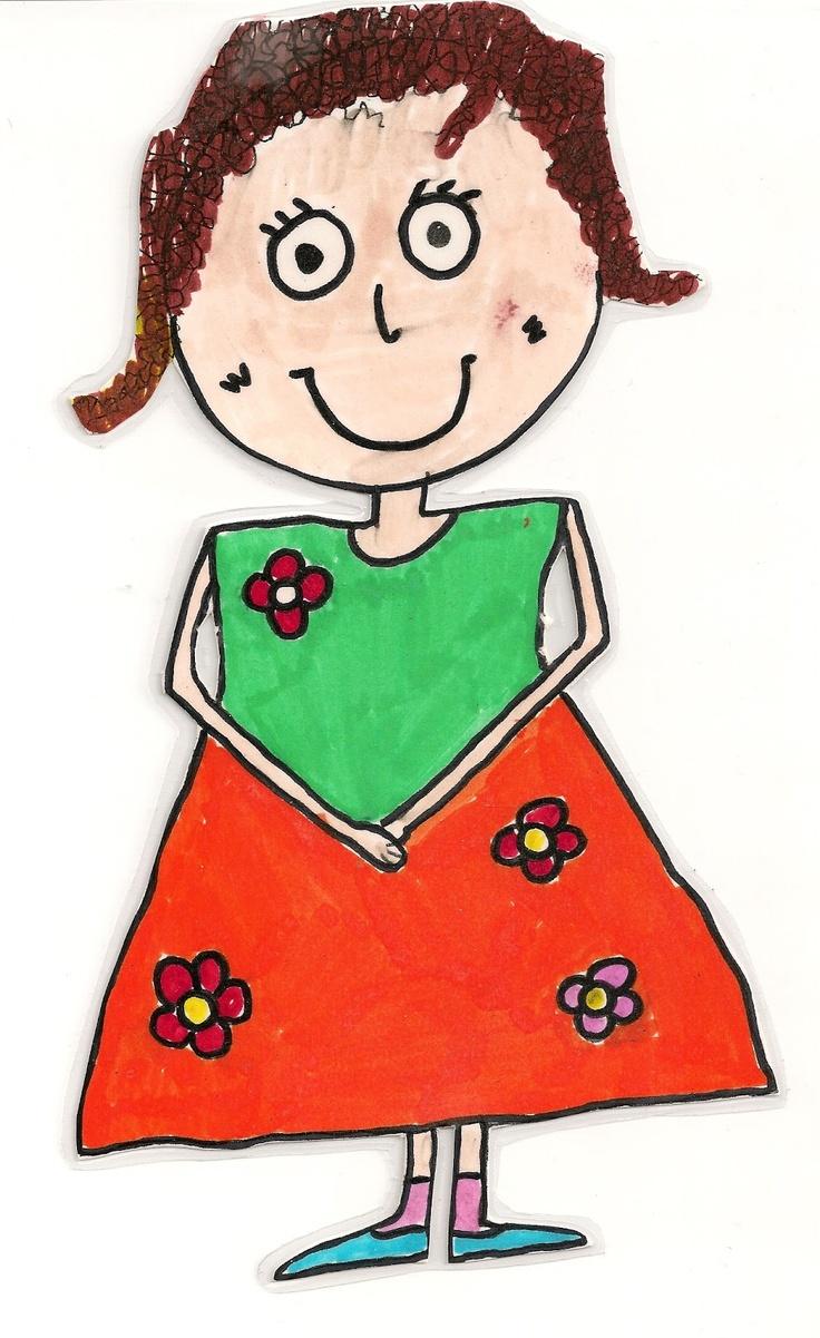 Mrs happy - feelings dolls   η Χαρούλα
