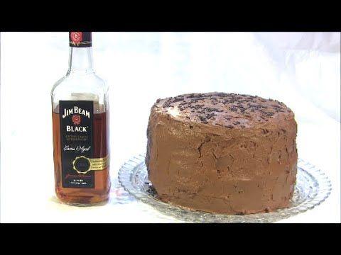 YouTube Chocolate Bourbon cake W / Chocolate Bourbon Ganache