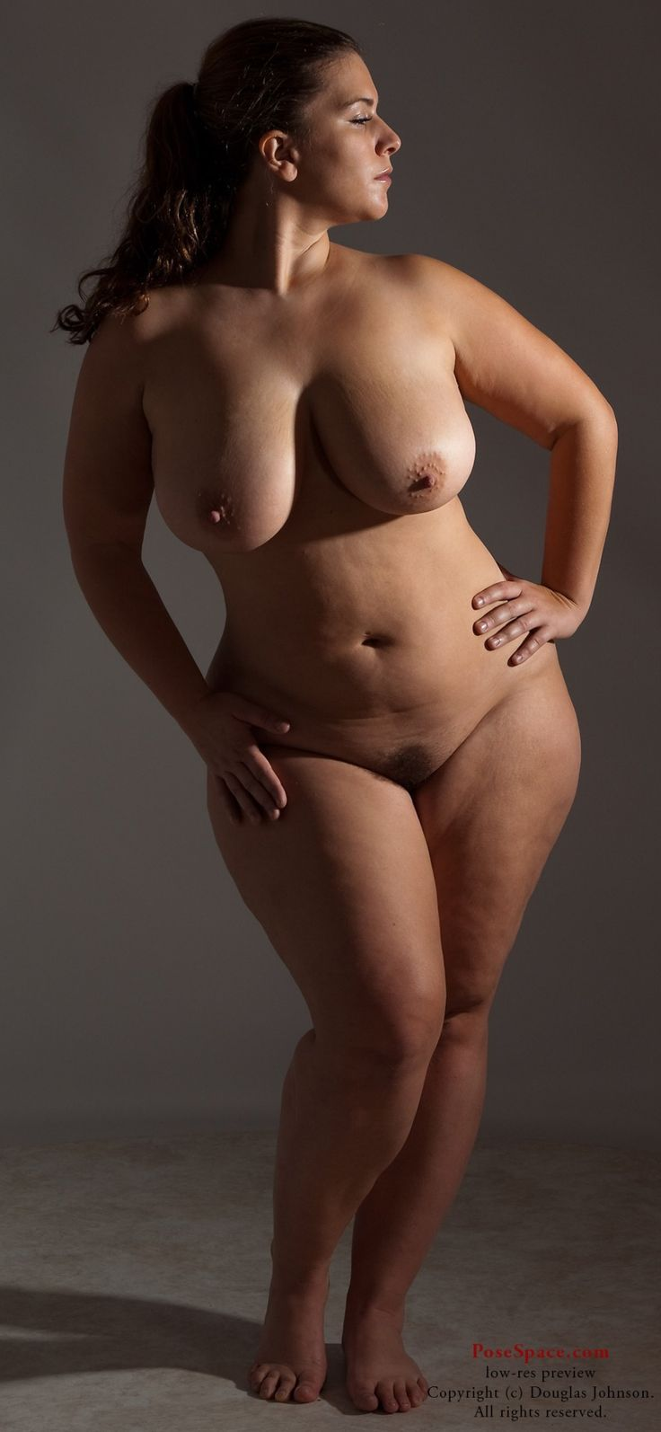 Nude Art Curvaceous Women 89