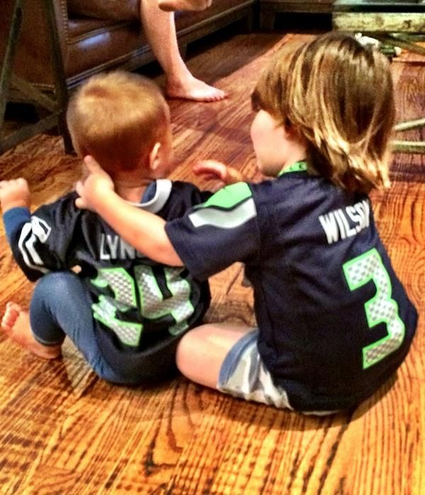 Tom and Shep. Go Seahawks!