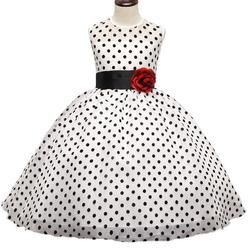 Polka Dots Party Dress for Girls