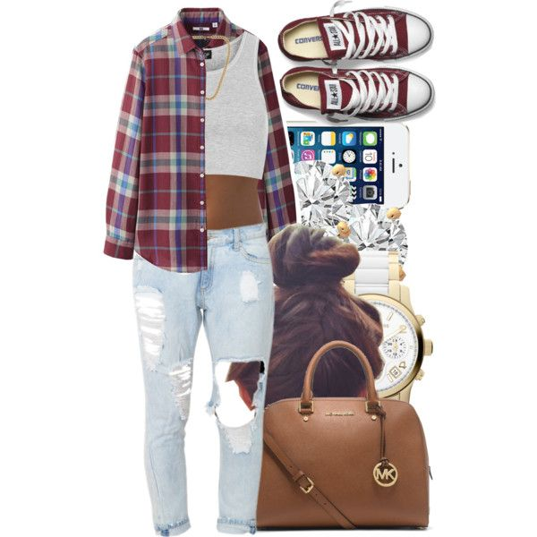 A fashion look from May 2014 featuring Uniqlo blouses, Topshop tops and Converse sneakers. Browse and shop related looks.
