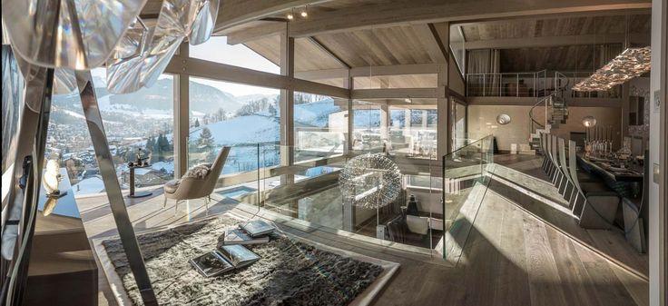 Шикарное шале для аренды Mont Blanc, расположенное в престижном горнолыжном курорте Межев, Франция, приглашает любителей отдыха в горах. В аренду предоставляются четыре роскошных двуспальных люкса и два элегантных двуместных номера.  Одновременно шале может принять 12 взрослых гостей и 4 детей, обеспечив им неповторимый сказочный отдых. Шале располагает открытым подогреваемым бассейном, спа-зоной с дополнительным закрытым бассейном-джакузи, а также сауной и хаммамом.  #dominterier
