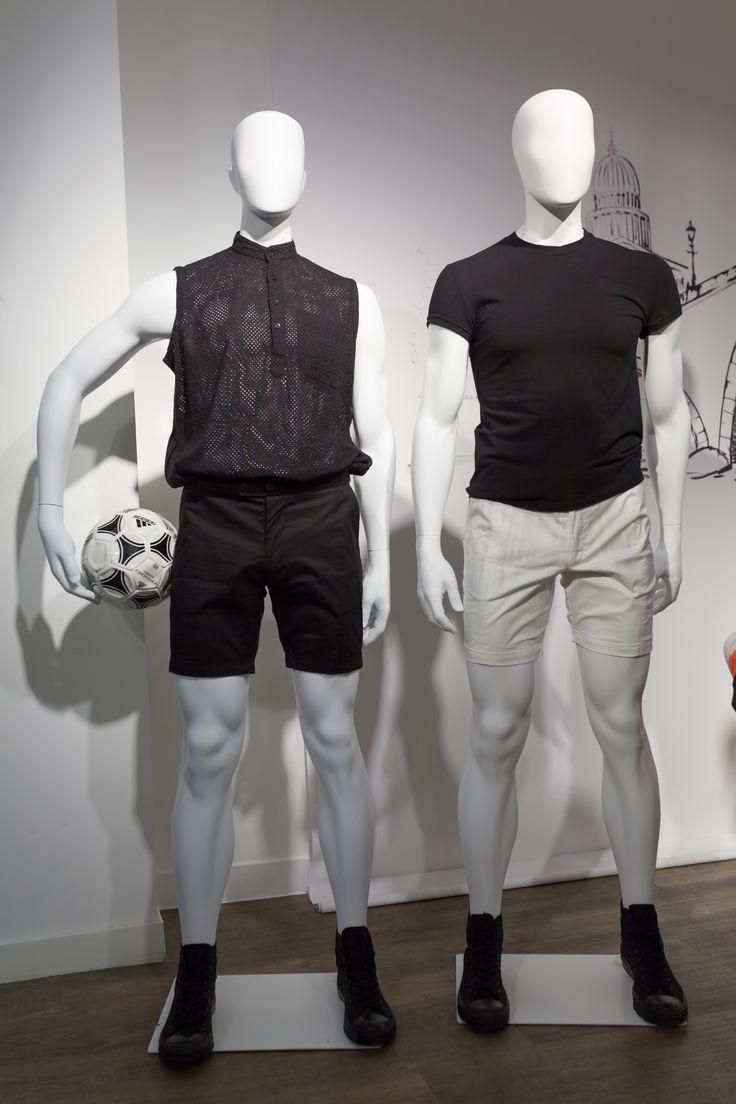 Mannequins homme sport Eleven collection | Cofrad mannequins #sport #CofradMannequins