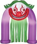 Animated Halloween Inflatable - Clown with Spinning Eyes Archway  159.99