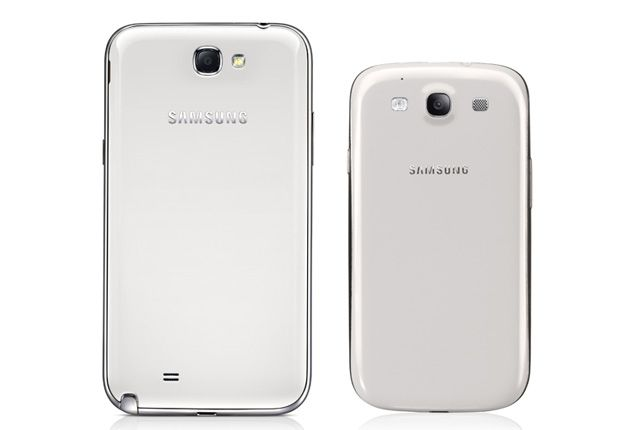 Samsung Galaxy Note 2 vs Samsung Galaxy S3: Specs comparison