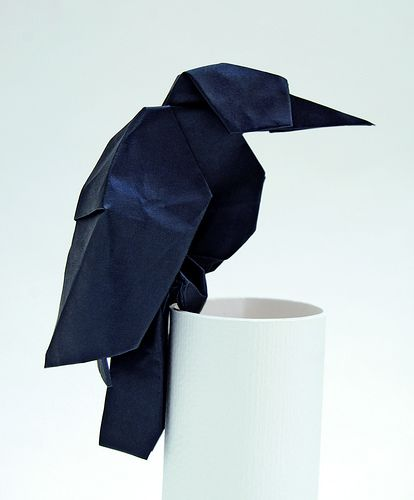 Origami Raven by Stephan Weber