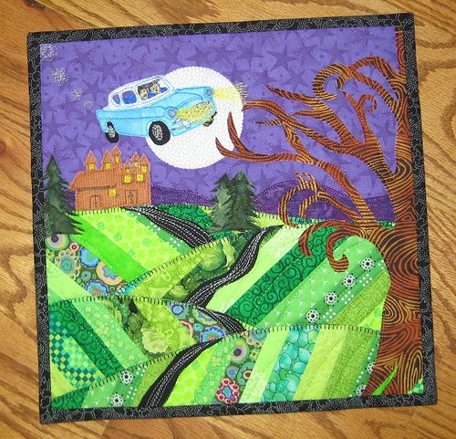 Harry Potter Mini Art Quilt