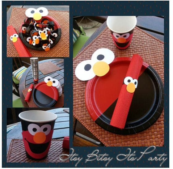 Elmo Cake Decorating Instructions : 214 best images about Seasame Street Birthday on Pinterest ...