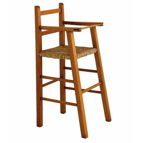 Silla para bebe calder sillas periqueras pinterest for Silla de bebe de madera