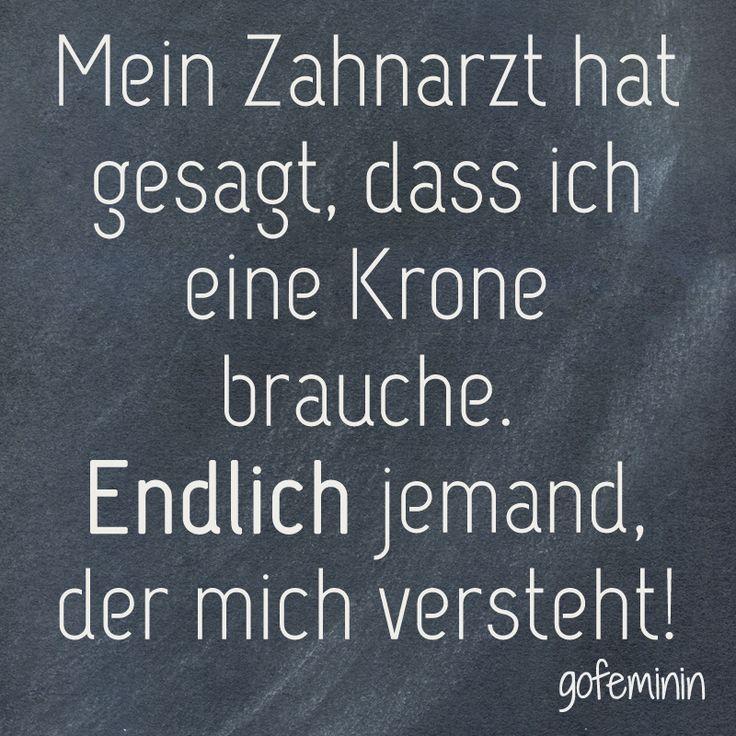 #spruch #sprüche #zitat #quote Mehr witzige Sprüche gibt's auf gofeminin.de!                                                                                                                                                      Mehr