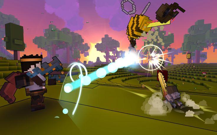 Trove: Trion Worlds verrät Details zum Sandbox-MMORPG  Mit Trove arbeitet Trion Worlds derzeit an einer Mischung aus Minecraft und MMORPG.  Auf der GDC verrieten die Entwickler einige neue Details zum Spiel. So könnt ihr einerseits wie in einem Sandbox-MMORPG Abenteuer erleben. Ihr erschafft euch einen Helden aus mehreren Klassen, schließt euch m ...