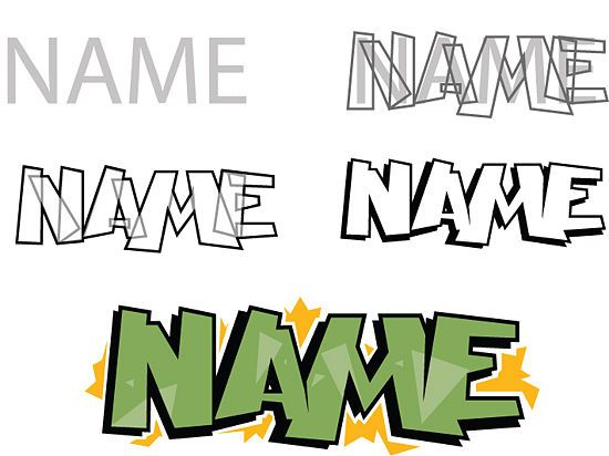 step by step how to draw graffiti letters a-z - Google Search
