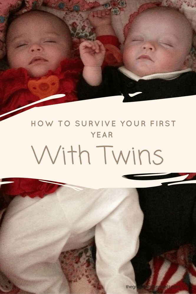 How To Survive Your First Year With Twins…