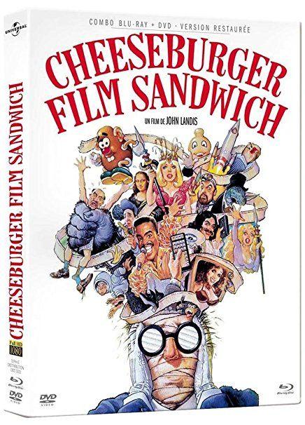 Critique de Cheeseburger Film Sandwich, suite de Hamburger Film Sandwich, également dispo en combo DVD/Blu-ray, version restaurée et haute définition, dès ce 14/12 dans la collection des comédies américaines cultes de Elephant Films