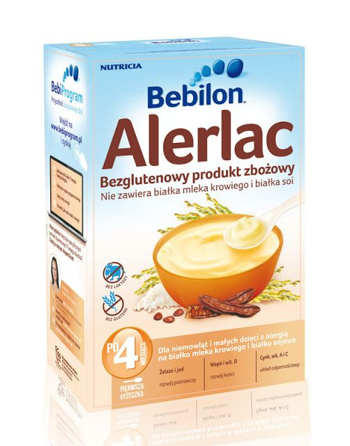 smakołyki alergika: Bebilon Alerlac - test i KONKURS