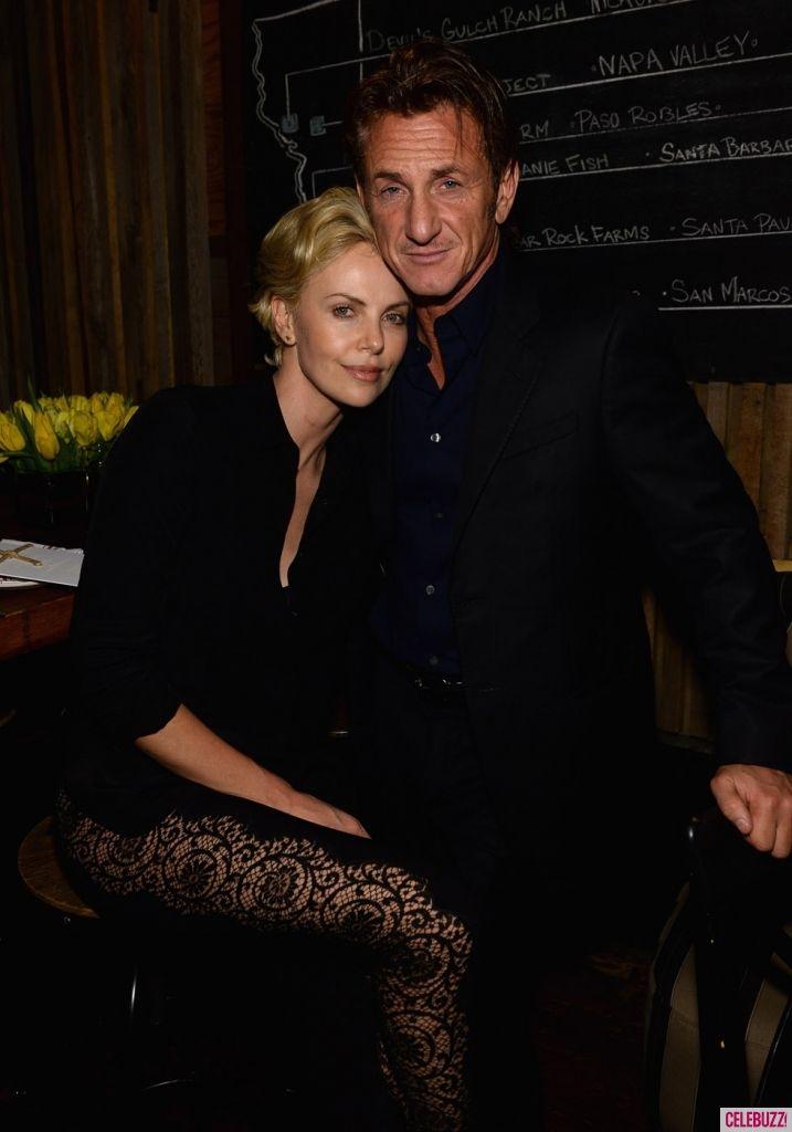Charlize Theron + Sean Penn