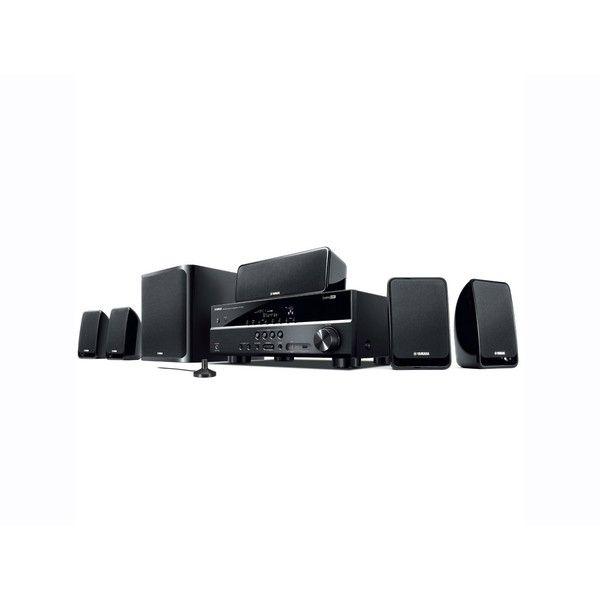 cool Home Theater Yamaha YHT - 2910 com 5.1 Canais de Áudio 500W RMS 4 HDMI 1 USB 3D Subwoofer Ativo ZK17830 706365