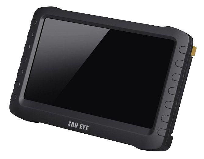 5.8 Г Портативный беспроводной приемник DVR 5 дюймов экран, обнаружение движения, 9.5 часов Бесшовные петли запись монитор