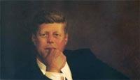 John F. Kennedy, 1967 by James Browning Wyeth (born July 6, 1946)