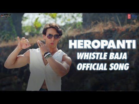 #TigerShroff and #KritiSanon starrer #Heropanti movie song #WhistleBaja Lyrics with translation, sung by #NindyKaur, music by #ManjMusik, lyrics by #Raftaar