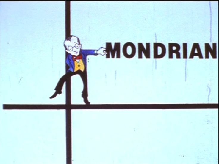 Fun but accurate animation on Mondrian's journey from Reality to Abstraction set to his favourite Boogie-Woogie music. On Friday Nights he actually DID Boogie! https://vimeo.com/72886687